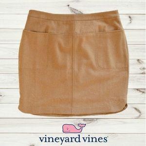 NWT VINEYARD VINES Caramel Pencil Skirt